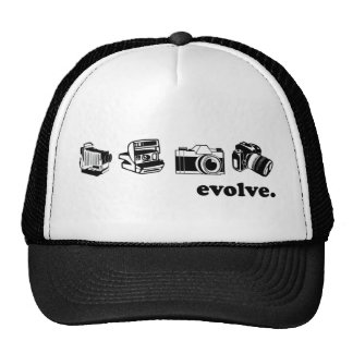 Camera evolution cap