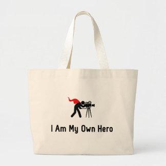 Camera Hero Jumbo Tote Bag