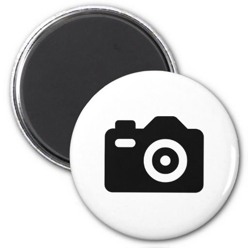 Camera Icon Fridge Magnets