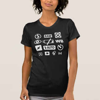 Camera Icons T-Shirt