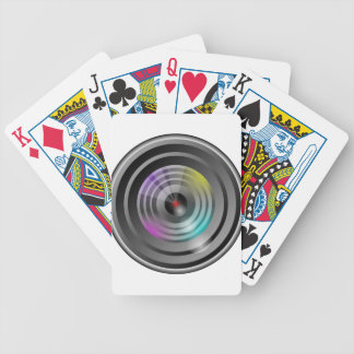 Camera Lens Bicycle Playing Cards