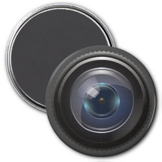 Camera Lens for the Nerd Geeks 7.5 Cm Round Magnet