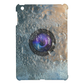 Camera Lens Frozen in Ice iPad Mini Case