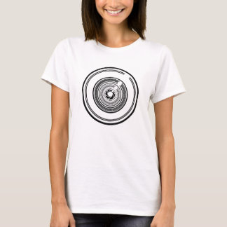 Camera Lens - Light T-Shirt