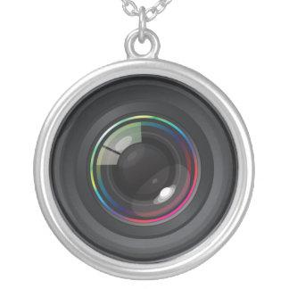 Camera Lens Necklace