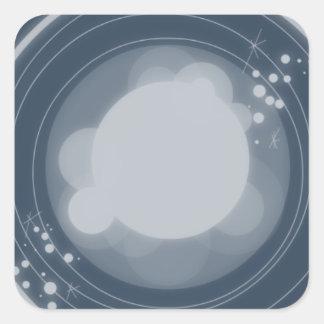 Camera Lens Square Sticker