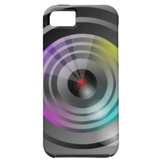 Camera Lens Tough iPhone 5 Case