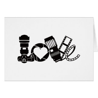 Camera Love Card