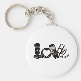 Camera Love Keychain
