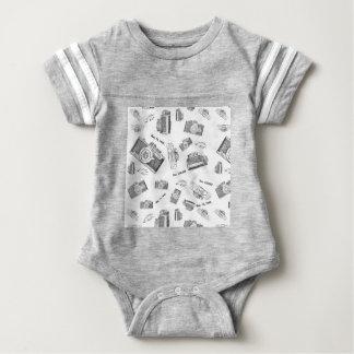 camera photo baby bodysuit