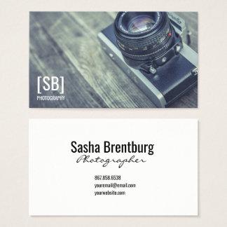 Camera Photo Business Card