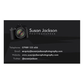 Camera Photographers Business Card