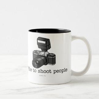 Camera Shoot Two-Tone Mug