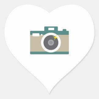 Camera Heart Sticker