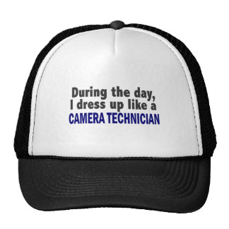 Camera Technician During The Day Mesh Hats