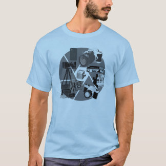 Camera Time Collage T-Shirt