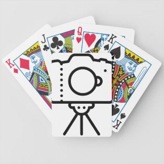 Camera Tripod Stand Bicycle Playing Cards