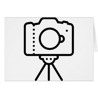 Camera Tripod Stand Card