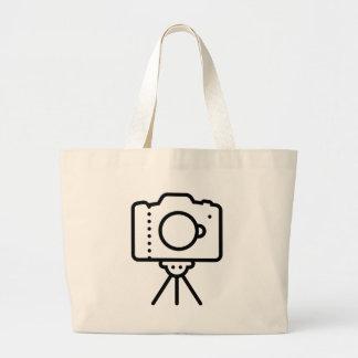 Camera Tripod Stand Large Tote Bag