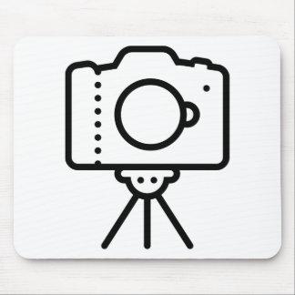 Camera Tripod Stand Mouse Pad