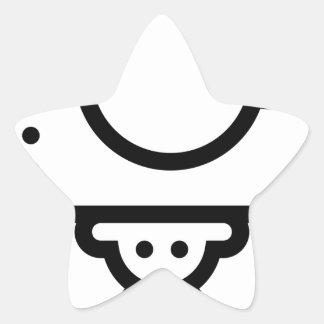 Camera Tripod Stand Star Sticker