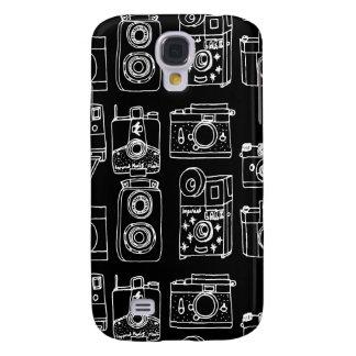 Camera - Vintage Cameras - B&W / Andrea Lauren Samsung Galaxy S4 Cover