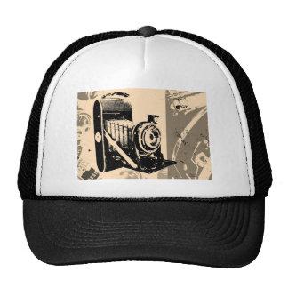 Camera Vintage Hats