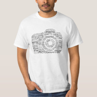 Camera Words T-Shirt