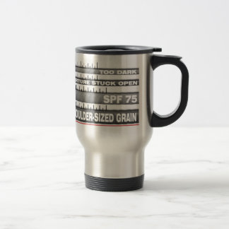 Camera Zoom Lens Travel Mug