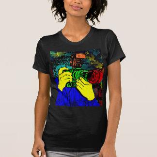 CameraMan 3D ChromaDepth T-Shirt