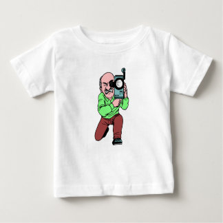 Cameraman Baby T-Shirt