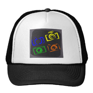 cameras trucker hat