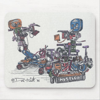 Cameras On Dollies Mouse Pad