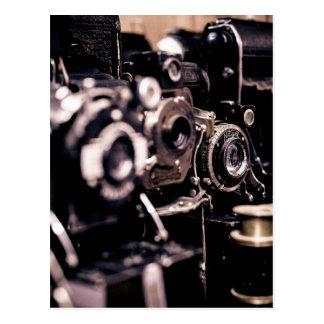 cameras postcard