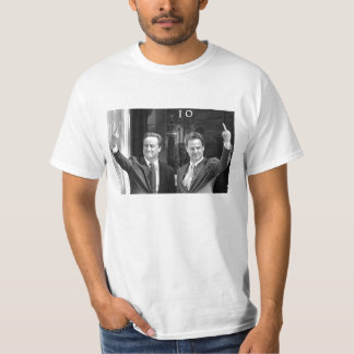 Cameron and Clegg White T Shirt