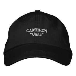 Cameron Clan Motto Embroidered Hat