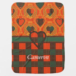 Cameron clan Plaid Scottish tartan Baby Blanket