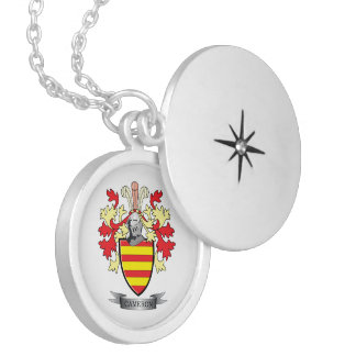 Cameron Family Crest Coat of Arms Locket Necklace