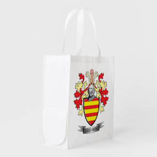 Cameron Family Crest Coat of Arms Reusable Grocery Bag