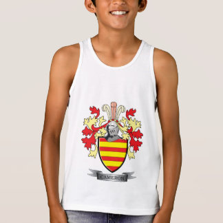 Cameron Family Crest Coat of Arms Singlet
