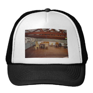 Cameron Hall Loft With Exposed Beams In University Trucker Hat