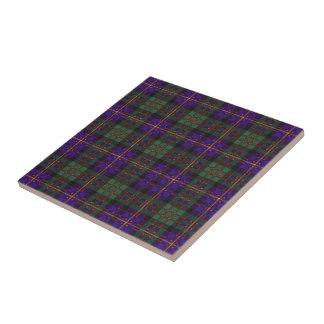 Cameron of Erracht Scottish tartan Tile