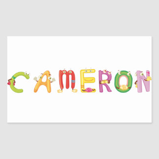 Cameron Sticker