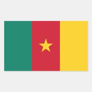 Cameroon/Cameroonian Flag Rectangular Sticker
