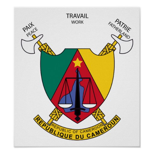 Cameroon Coat Of Arms Posters