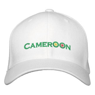 Cameroon Embroidered Hat