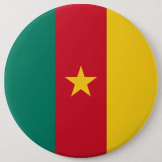 Cameroon Flag 6 Cm Round Badge