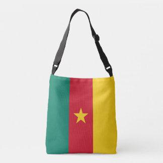 Cameroon Flag Crossbody Bag
