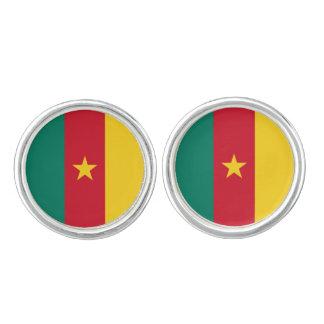 Cameroon Flag Cufflinks