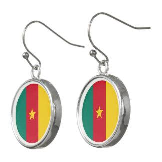 Cameroon Flag Earrings